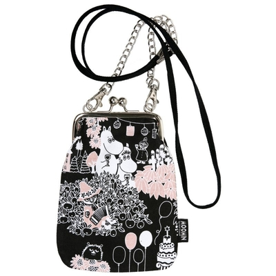 "Moomin ""Vinssi"" purse bag Time for Celebration"