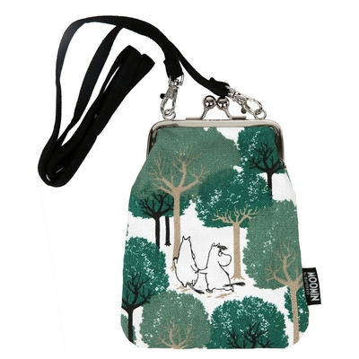 "Moomin ""Vinssi"" purse bag the Grove, green"