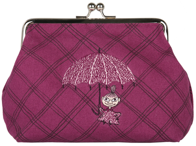 "Moomin ""emma"" purse/ makeup bag, dance"