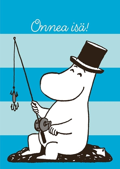 Moomin 2-part card, Onnea isä!
