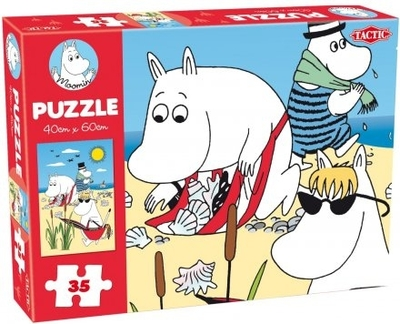 Moomin 35 Pieces Puzzle, Beach