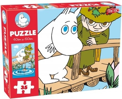Moomin 35 Pieces Puzzle, Bridge