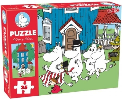 Moomin 35 Pieces Puzzle, House
