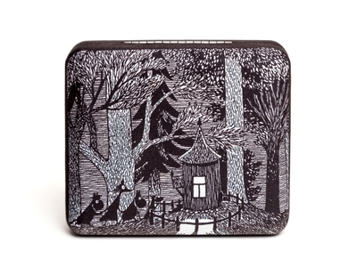 Moomin Accessory Case cottage in the woods