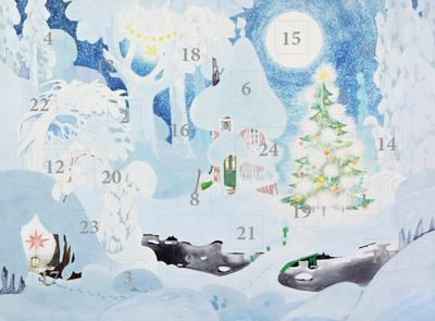 Moomin Advent Calendar A4 Winter