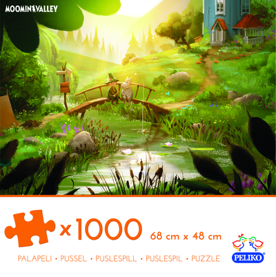 Moomin Animation puzzle 1000 pieces