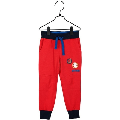 Moomin Badge trousers, red