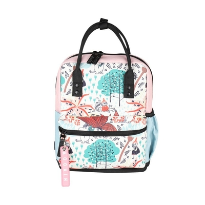 Moomin Bob backpack Magic Forest white