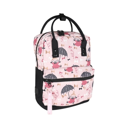 Moomin Bob backpack Ribbon, light pink
