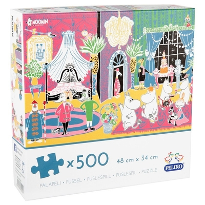 Moomin Celebration puzzle 500 pieces