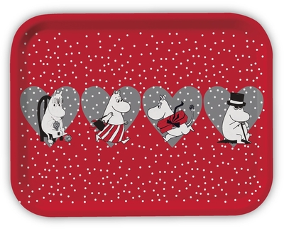 Moomin Christmas Tray, Heart