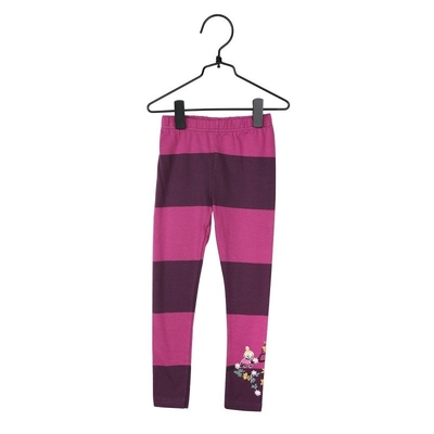 Moomin Climbing Tree children's leggings, pink