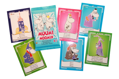Moomin Collectible Cards, 6pc