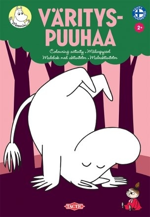 Moomin Coloring Activity -book