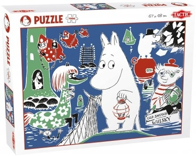 Moomin Comic 4 puzzle, 1000 pieces