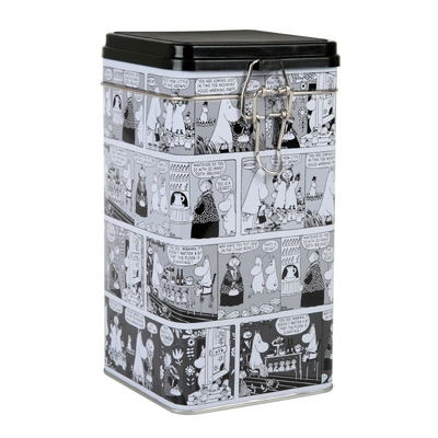 Moomin Comic tin can L