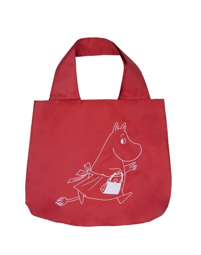 Moomin Eco Bag Moominmamma, red