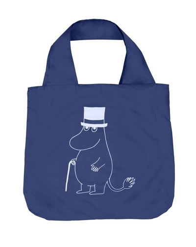 Moomin Eco Bag Moominpappa, blue