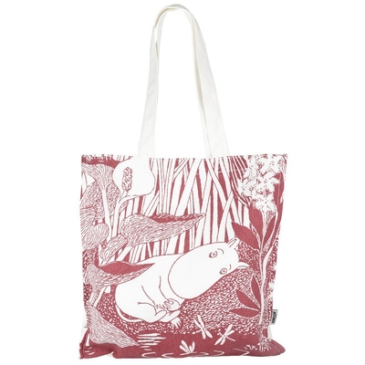 Moomin Eco bag Our sea, rose
