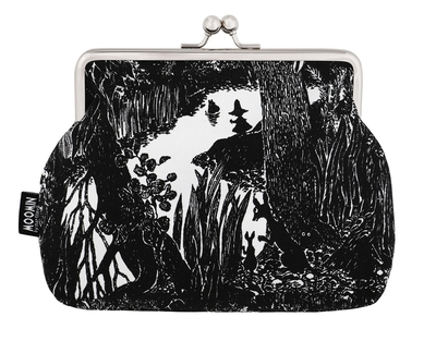 Moomin Emma makeup bag / pouch River, black/white