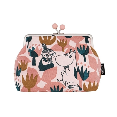 Moomin Emma pouch Blooming, rose