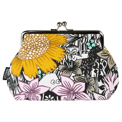 Moomin Emma purse / make up bag Daydreaming, yellow