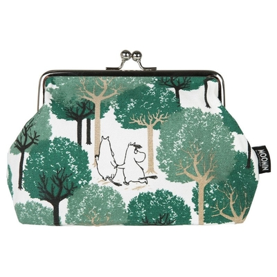 Moomin Emma purse / make up bag Grove, green