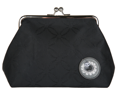 Moomin Emma purse/ make up bag Moomin logo, black