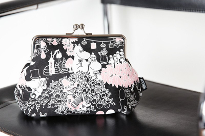 Moomin Emma purse/ makeup bag, Time for Celebration