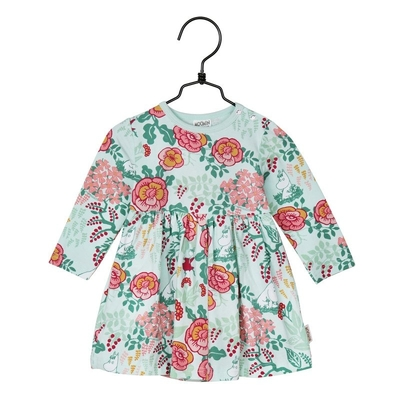 Moomin Flora babies' body suit / dress, mint