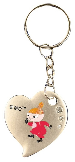Moomin Heart Keyring, Little My
