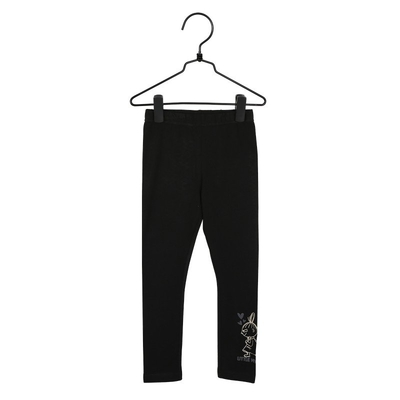 Moomin Hearts children's leggings, black