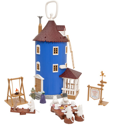 Moomin House, includes Moomin characters