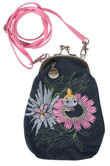 Moomin Joxter purse bag, Little My dreaming