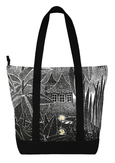 Moomin Kampsu shopper bag Mist