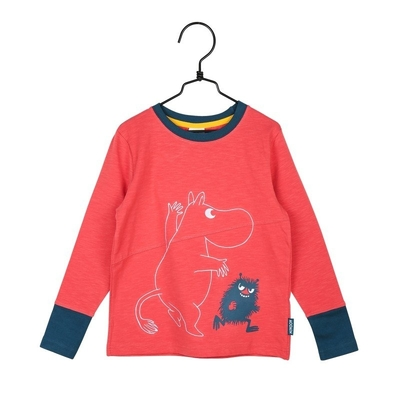 Moomin Kisakaverit-shirt, red