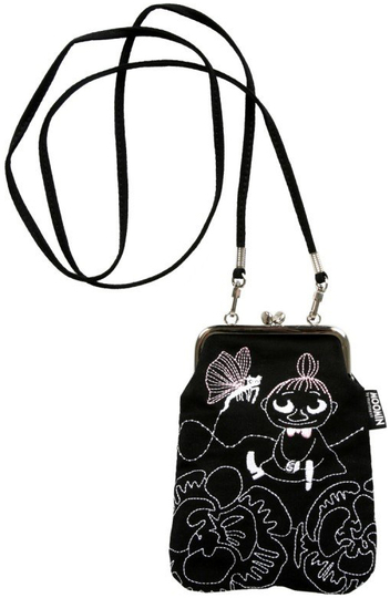 Moomin Little My & butterfly women's pouch bag