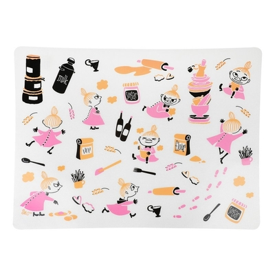 Moomin Little My baking mat, pastel
