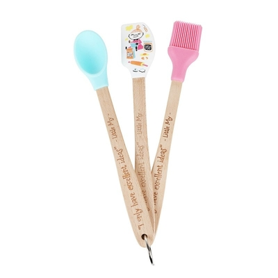 Moomin Little My baking spatula 3 set, pastel