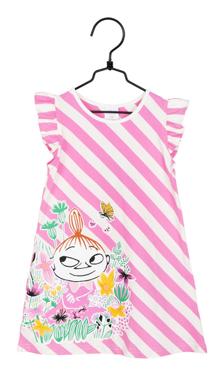Moomin Little My children's dress, pink