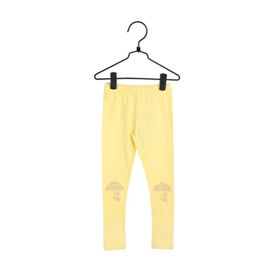 Moomin Little My children's leggings, yellow