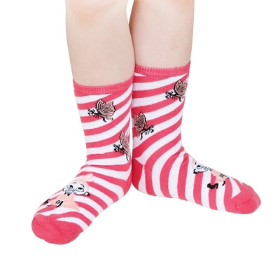 Moomin Little My socks 2pcs, light pink