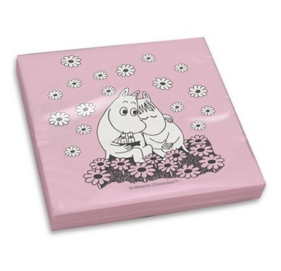 Moomin Love Napkins, 20pc