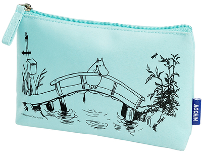Moomin Makeup Bag, Contemplating Moomin