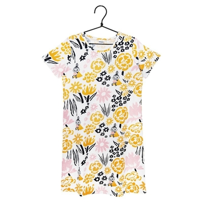 Moomin Meadow-Nightshirt, yellow