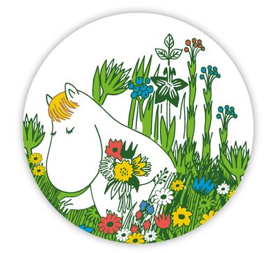 Moomin Midsummer pot coaster