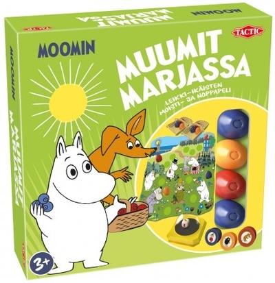 Moomin Moomins gathering berries -game
