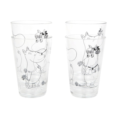 Moomin Moomintroll and Snorkmaiden Tumbler Set