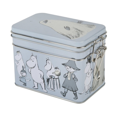 Moomin Moominvalley Sketch tea caddy