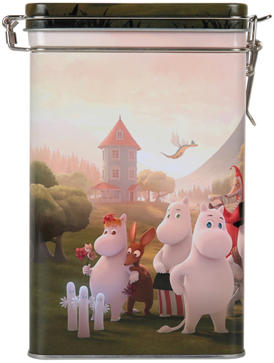 Moomin Moominvalley coffee jar